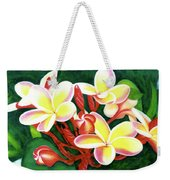 Hawaii Tropical Plumeria Flower #205 Weekender Tote Bag