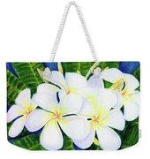 Hawaii Tropical Plumeria Flower  #208 Weekender Tote Bag