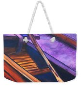 Hawaiian Canoe Weekender Tote Bag by Marionette Taboniar