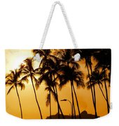Hawaiian  Cruise Weekender Tote Bag
