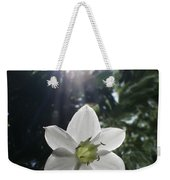 Hawaiian Flower Weekender Tote Bag