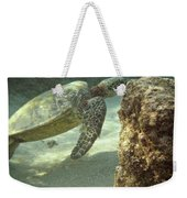 Hawaiian Green Sea Turtle Weekender Tote Bag