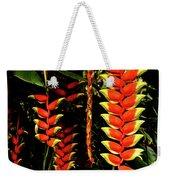 Hawaiian Heliconia Weekender Tote Bag