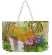 Hawaiian Homestead In The Valley #460 Weekender Tote Bag
