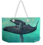 Hawaiian Humpback Whales #455 Weekender Tote Bag