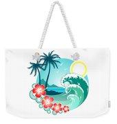 Hawaiian Island 2 Weekender Tote Bag
