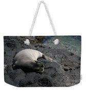 Hawaiian Monk Seal Ilio Holo I Ka Uana Weekender Tote Bag