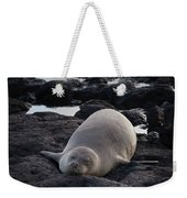 Hawaiian Monk Seal Weekender Tote Bag