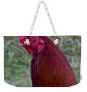 Hawaiian Rooster Weekender Tote Bag