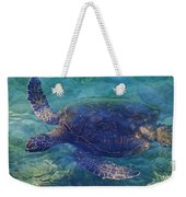 Hawaiian Sea Turtle Weekender Tote Bag