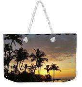 Hawaiian Sunset Design Weekender Tote Bag