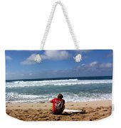 Hawaiian Surfer Weekender Tote Bag