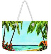 Hawaiian Tropical Beach #367  Weekender Tote Bag