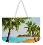 Hawaiian Tropical Beach #429 Weekender Tote Bag
