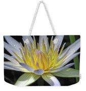 Hawaiian Water Lily 05 - Kauai, Hawaii Weekender Tote Bag