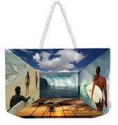 Hawaiian Zen Room Weekender Tote Bag