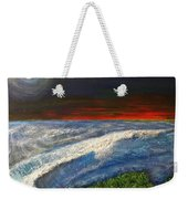 Hawiian View Weekender Tote Bag by Michael Cuozzo