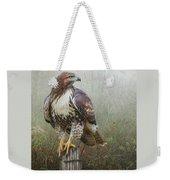 Hawk And Barbed Wire Weekender Tote Bag