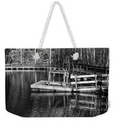 Hawk Island Michigan Dock  Weekender Tote Bag