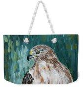 Hawk Weekender Tote Bag by Maria Langgle