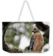Hawk On Watch Weekender Tote Bag