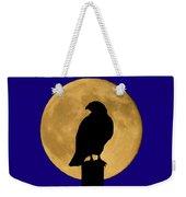 Hawk Silhouette 2 Weekender Tote Bag by Shane Bechler