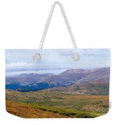 Hawk Soaring Over Guanella Pass In The Arapahoe National Forest Weekender Tote Bag