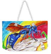 Hawk Wasp Weekender Tote Bag
