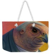 Hawkish Weekender Tote Bag by James W Johnson