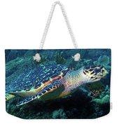 Hawksbill Sea Turtle 3 Weekender Tote Bag