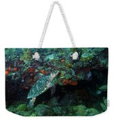 Hawksbill Sea Turtle 4 Weekender Tote Bag