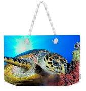 Hawksbill Turtle Weekender Tote Bag