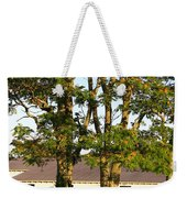 Hay Bales And Trees Weekender Tote Bag