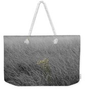 Hay Daisy In The Fog Weekender Tote Bag