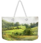 Hay Fields Weekender Tote Bag