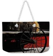 Hay On Wheels Weekender Tote Bag