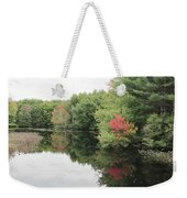 Haybrook Maine Foliage 6 Weekender Tote Bag