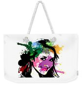 Hayden Panettiere Pop Art Weekender Tote Bag