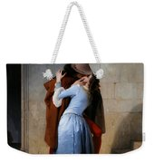 Hayez, The Kiss Weekender Tote Bag