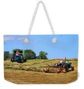 Haying The Field 1 Weekender Tote Bag