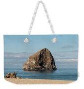 Haystack Rock - Pacific City Oregon Coast Weekender Tote Bag