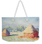 Haystacks In The Sun Weekender Tote Bag