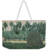 Haystacks Near Giverny Weekender Tote Bag