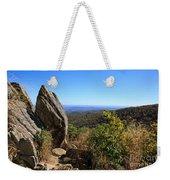 Hazel Mountain Overlook On Skyline Drive In Shenandoah National Park Weekender Tote Bag