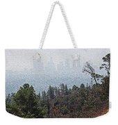 Hazy L.a. Weekender Tote Bag