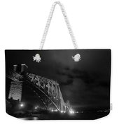 Hazy Lights In The Night Weekender Tote Bag