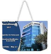 Hdfc Bank Recruitment Weekender Tote Bag