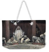 He Appeared To The Eleven Weekender Tote Bag by Tissot