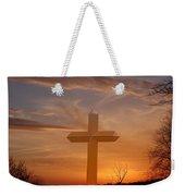 A Cross The Universe Weekender Tote Bag