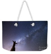 He Held The Stars In The Palm Of His Hand Weekender Tote Bag